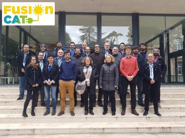 Participants a la primera reunió de FusionCAT celebrada al BSC