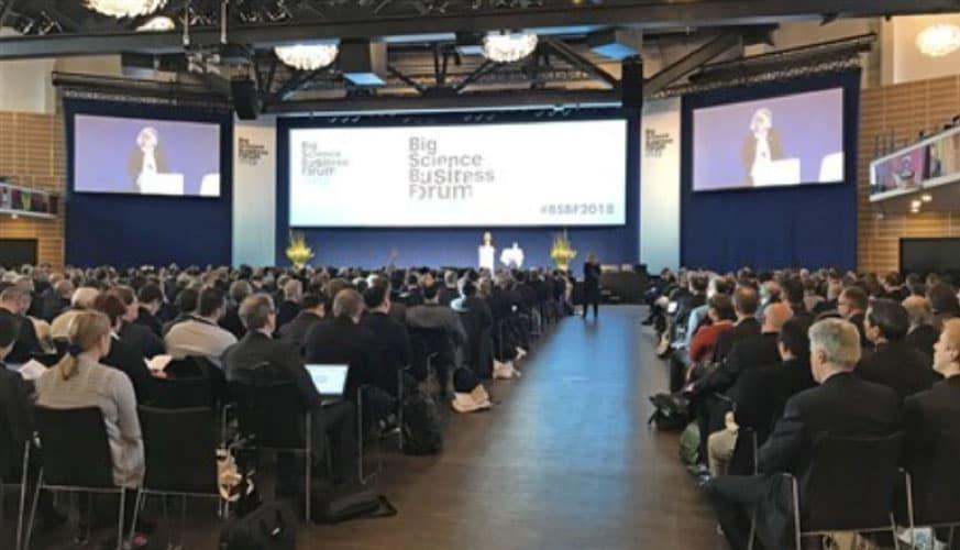 Big Science Business Forum, Copenhagen 2018
