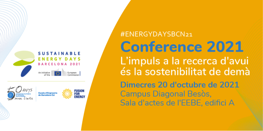 Sustainable Energy Days Conference 2021 - Today's Research Drive is Tomorrow's Sustainability